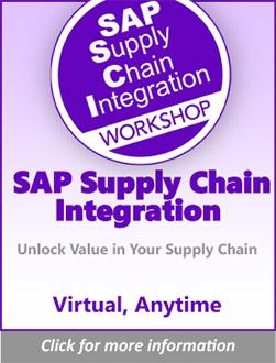 SAP Supply Chain Integration