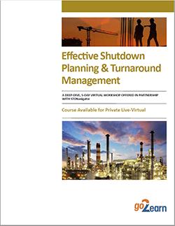 Shutdown Planning and Turnaround Management Workshop