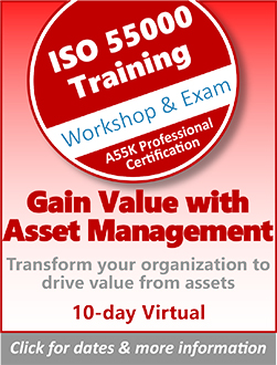 ISO 55000 - A55K Professional Certification